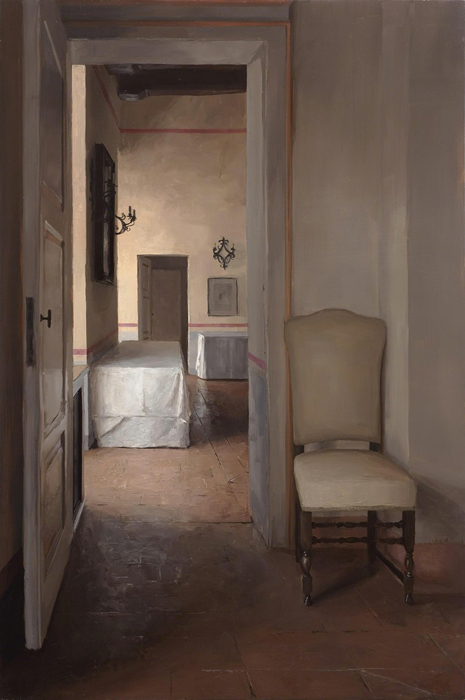 Tuscan Interior with Chair