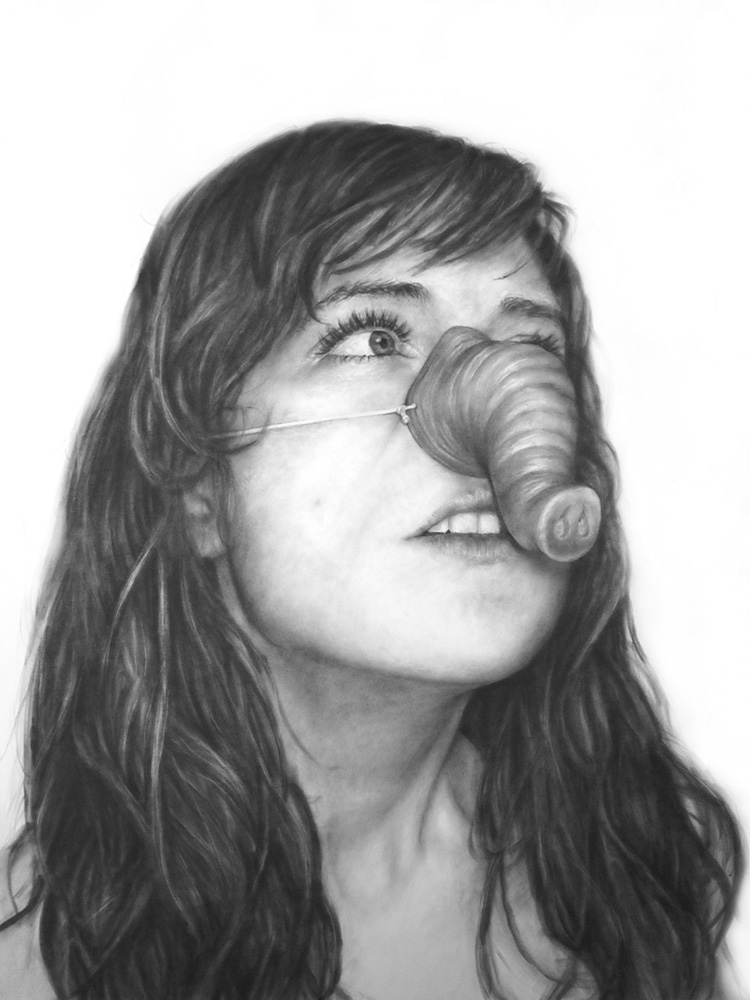 Self Portrait as Elephant, Masked series