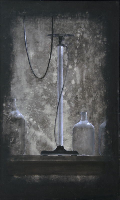 still_life_with_bicycle_pump_and_jars_2016-17_acrylic_on_canvas_36_x22