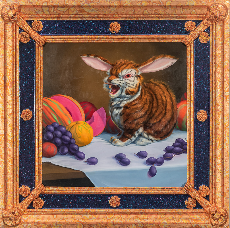 Laurie Hogin_Ode to Romantic Love (Still Life with Beautiful Peaches, Queer Melons and Wrathful Grapes)_2021_web